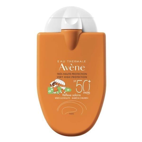 Avene雅漾 寶貝防曬液SPF50+ 30ml(耐水配方) 特惠瓶