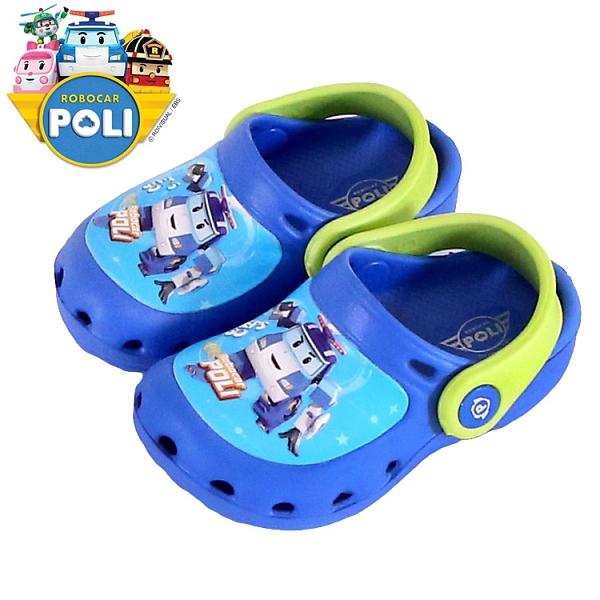 男童 POLI 波力 救援小英雄 10606 台灣製造涼拖鞋兩穿 布希鞋 洞洞鞋 園丁鞋 花園鞋 兒童拖鞋 59鞋廊