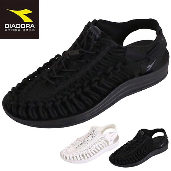 女款 DIADORA 31662 舒適柔軟EVA溯溪鞋 編織涼鞋 水陸鞋 護趾涼鞋 運動涼鞋 涉水鞋 59鞋廊