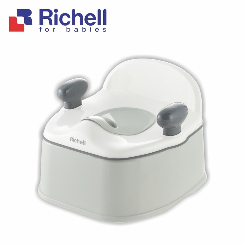 Richell 利其爾|Pottis灰白抑菌三階段訓練便器(戒尿布的第一首選)