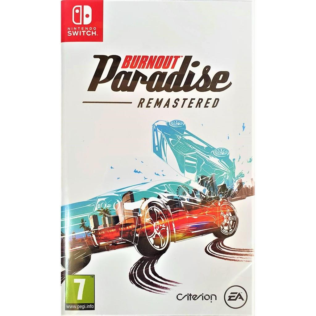 任天堂 Switch遊戲《橫衝直撞:狂飆樂園 重製版 Burnout Paradise Remastered》歐版(英文