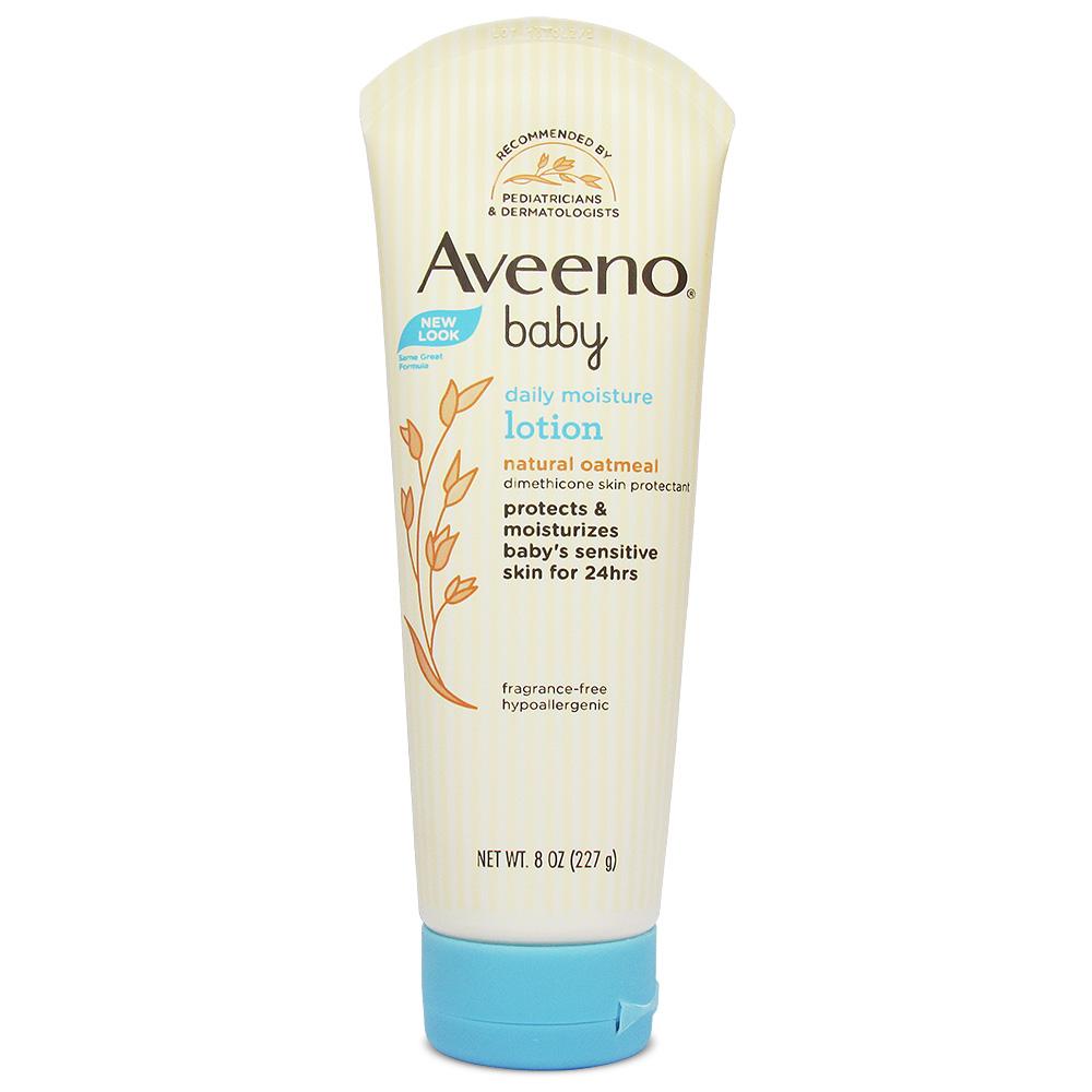 Aveeno 燕麥寶寶每日長效保濕乳液 (無香) 8oz(227g)