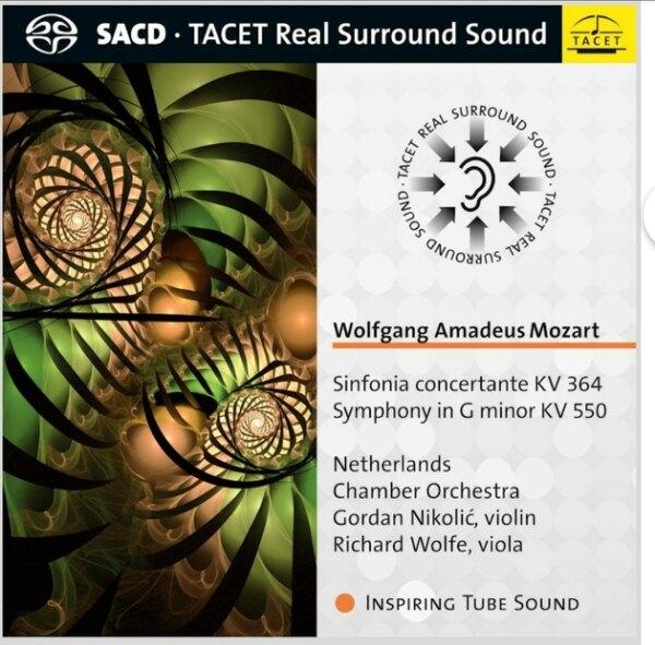 【停看聽音響唱片】【SACD】莫扎特:小提琴、中提琴交響協奏曲,第40號交響曲