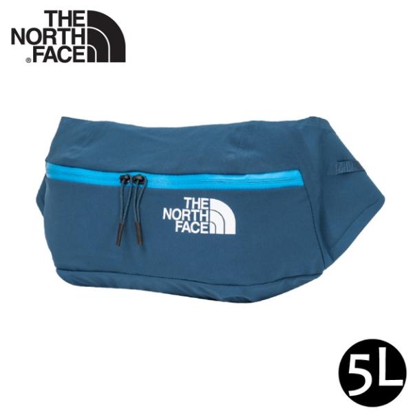 【The North Face 5L 防水腰包《午夜藍》】52CU/輕巧休閒腰包/側背包/隨行包/臀包/透氣//悠遊山水