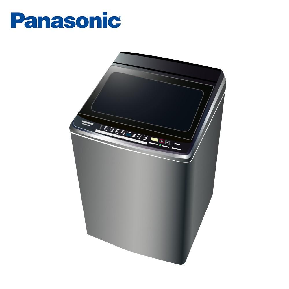 Panasonic國際牌 雙科技溫水不銹鋼16公斤直立洗衣機NA-V160GBS-S