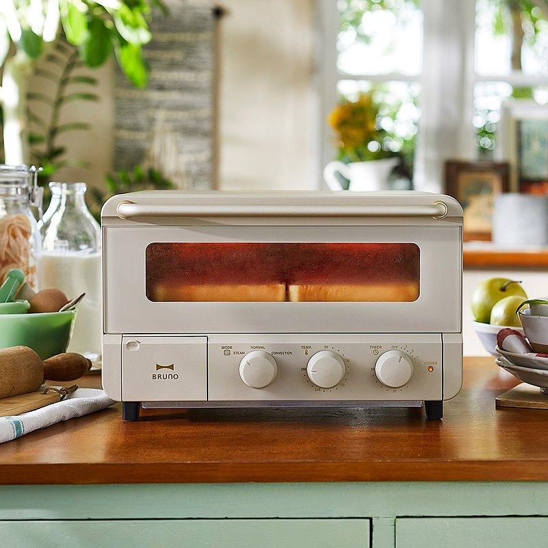 母親節禮物 | 日本BRUNO蒸汽旋風烤麵包烤箱(磨砂米灰)