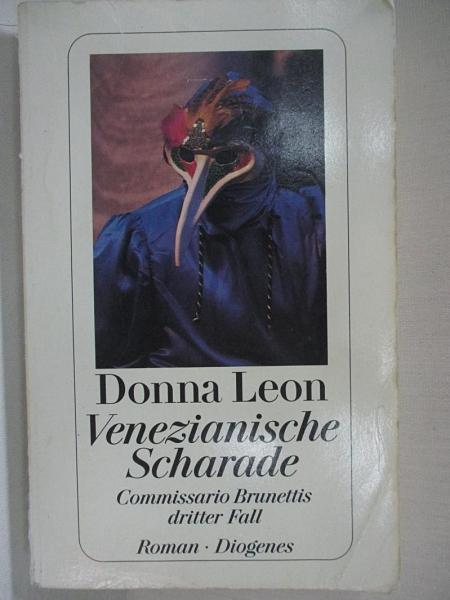 【書寶二手書T3/原文小說_BJR】Venezianische Scharade_Donna Leon