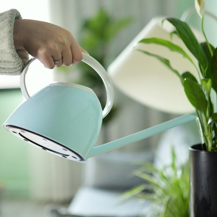 噴霧器 家用澆水壺長嘴灑水壺辦公室內綠植盆栽多肉家庭園藝塑膠澆花水壺T