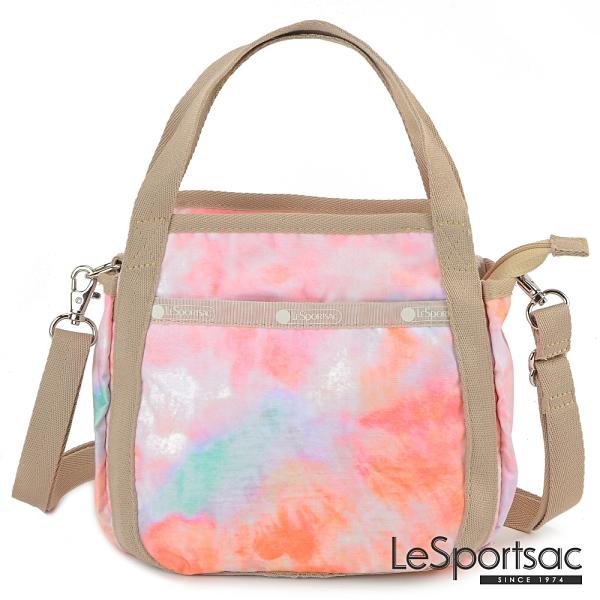 LeSportsac - Standard 隨身小巧手提/兩用包 (迷幻珊瑚) 8056P F638