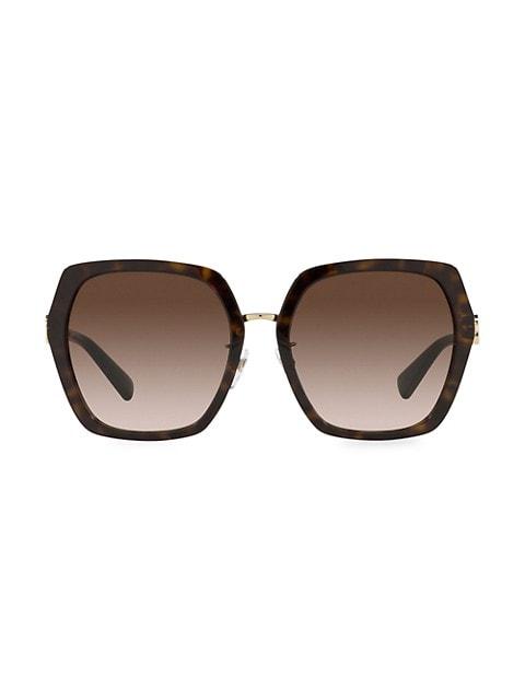 57MM Irregular Square Sunglasses