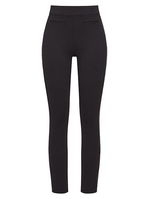 The Perfect Ankle Sequin Tuxedo Skinny Pants