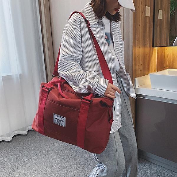 旅行包 旅行出差帆布手提包大容量男士行李袋健身便攜短途套拉杆女登機包