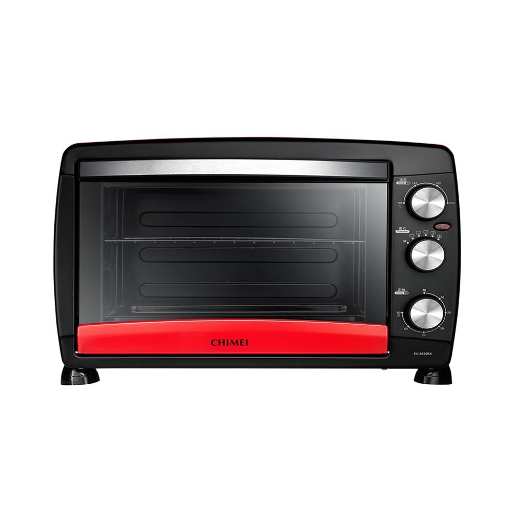 CHIMEI 奇美 EV-26B0SK 旋風式烤箱 26公升 紅色 公司貨