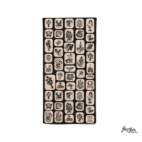 GOODFORIT / 澳洲Few & Far Maples Flash Towel超細纖維刺青海灘巾