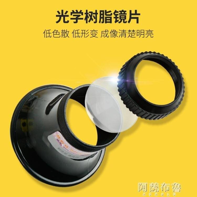 放大鏡 拜斯特維修鐘錶工具眼用15X倍眼罩式放大鏡便攜袖珍光學珠寶文玩 【居家家】