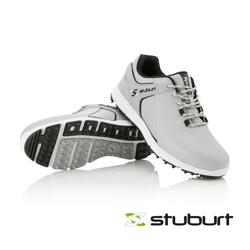 【STUBURT】英國百年高爾夫球科技防水練習鞋EVOLVE 3.0 SPIKELESS SBSHU1128 淺灰