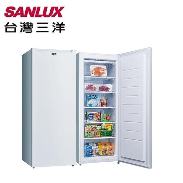 【台灣三洋SANLUX】181L 直立式冷凍櫃 SCR-181AE