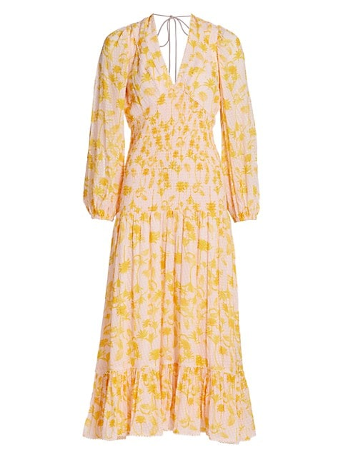 Bernadette Blouson-Sleeve Dress