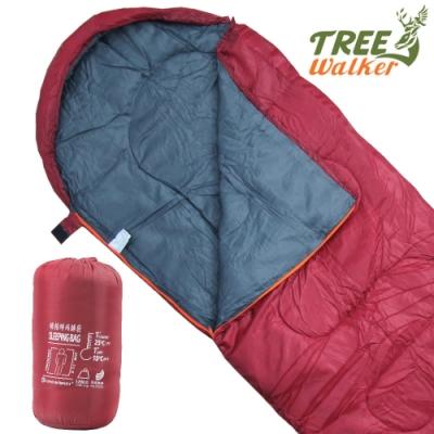TreeWalker 時尚蜂格紋睡袋
