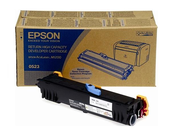 S050523 EPSON 原廠黑色碳粉匣 適用 M1200