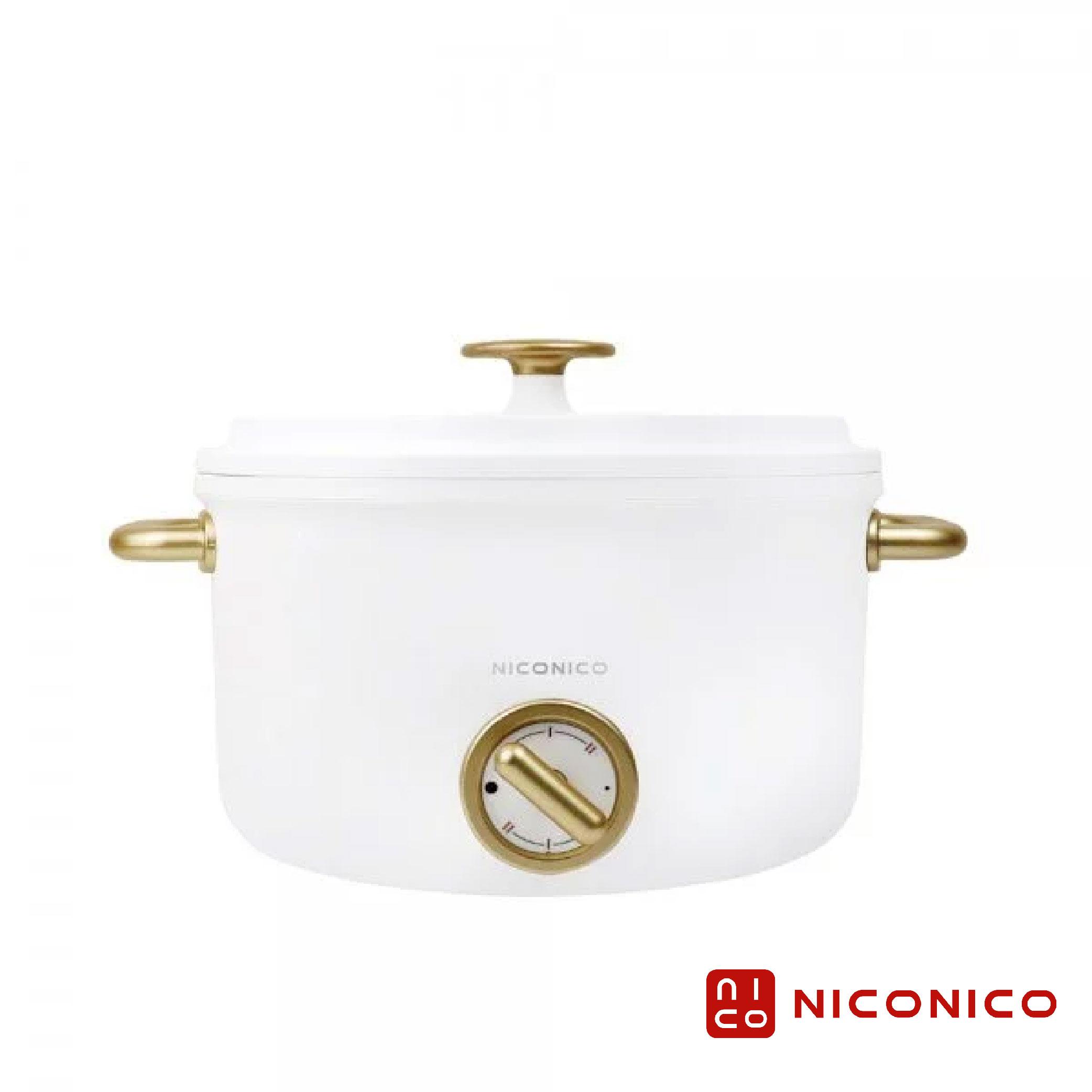 【NICONICO奶油鍋系列】日式美型陶瓷料理鍋2.5L