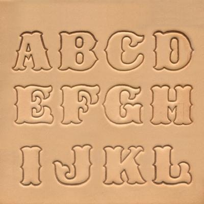 IVAN 25mm標準英文字母組8132-00