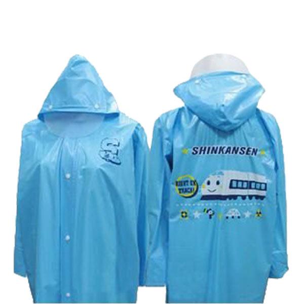 《Shinkansen 新幹線兒童雨衣》 三麗鷗正版授權,幼幼鐵道迷的最愛!