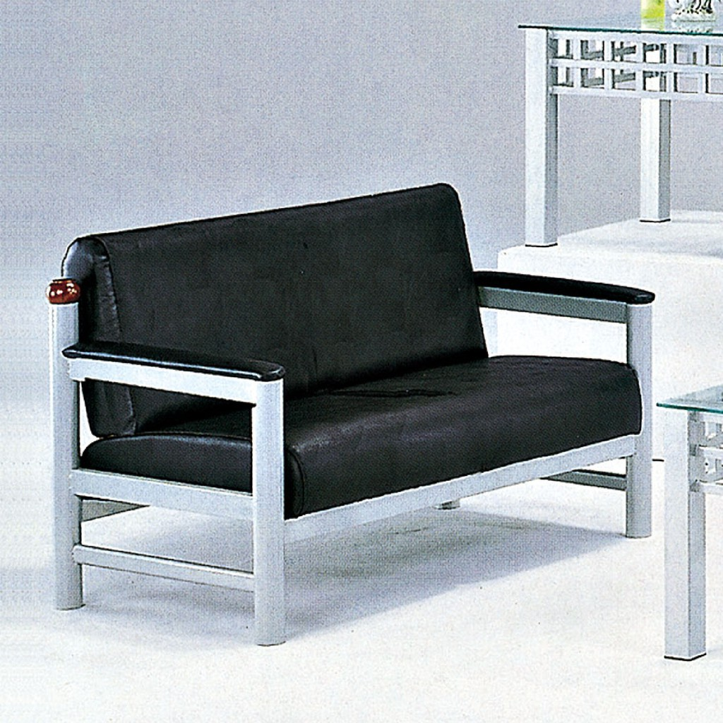【117cm雙人皮沙發-C631-6】雙人座 L型沙發 貓抓皮 布沙發 沙發工廠【金滿屋】