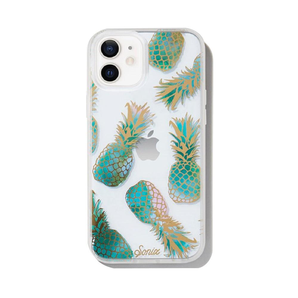 美國 Sonix iPhone 12 mini Liana Teal 果香鳳梨抗菌軍規防摔手機保護殼