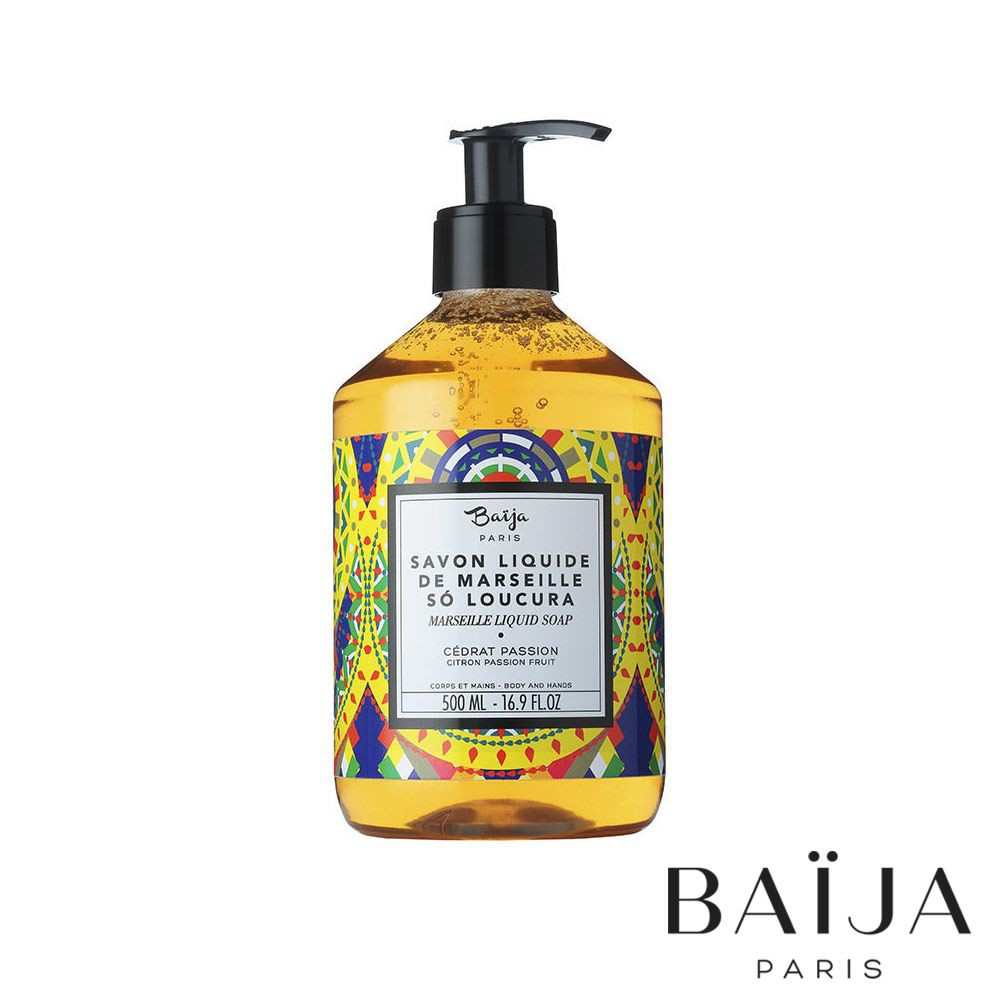 Baija Paris 古法液體馬賽皂(香櫞百香果) 500ml 里約嘉年華 巴黎百嘉