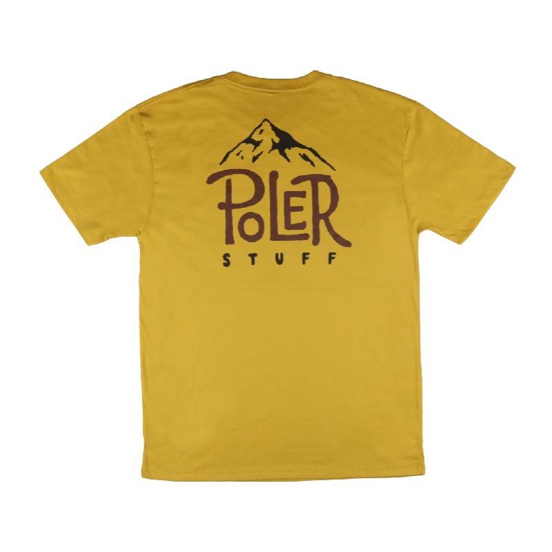 山峰POLER 短袖上衣 / 黃色 Size : S