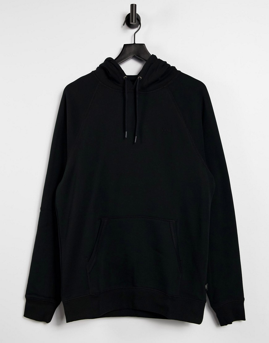 Vans Versa Small Logo hoodie in black