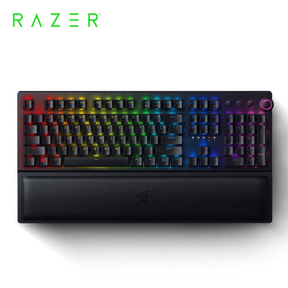 Razer 雷蛇 BlackWidow 黑寡婦 V3 Pro【綠軸】機械式 RGB 鍵盤
