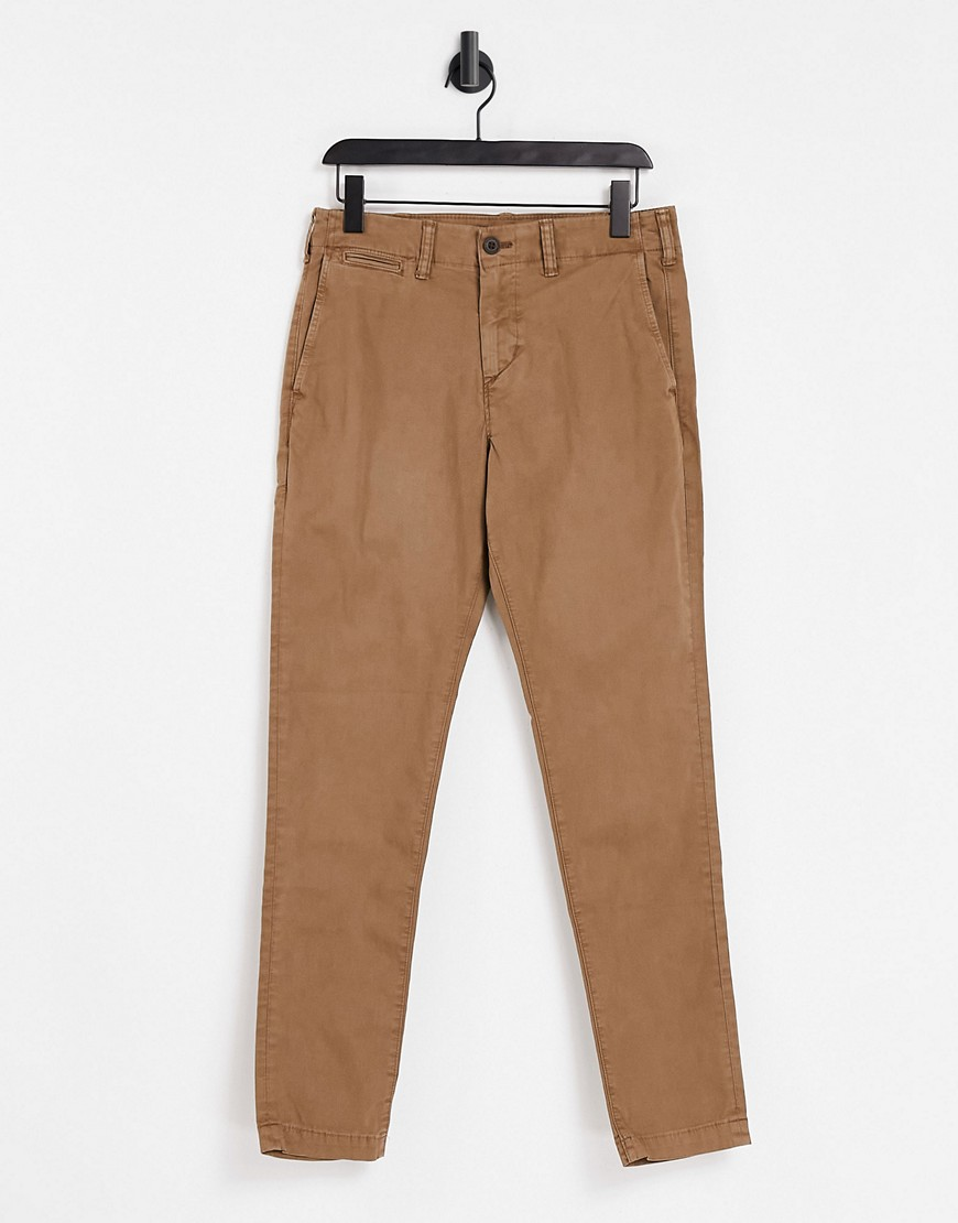 American Eagle skinny fit chinos in tan-Brown