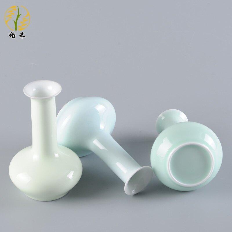 簡約清新小花瓶陶瓷插花瓶小號創意瓷瓶客廳餐桌桌面茶臺裝飾擺件