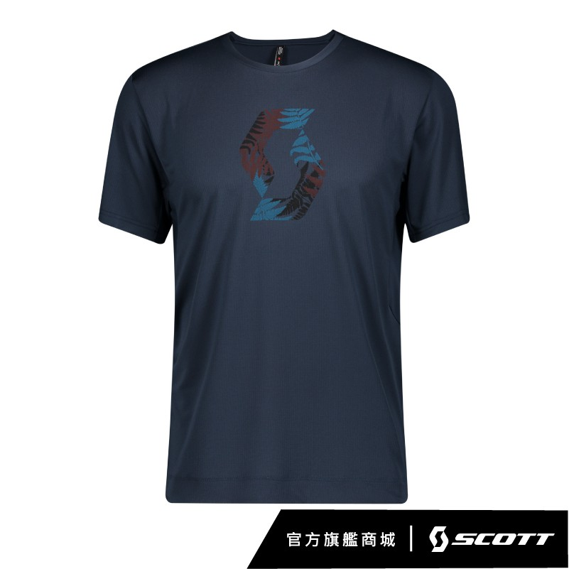 SCOTT TRAIL FLOW PRO S/SL MEN' S SHIRT 越野短袖車衣[夜幕藍]