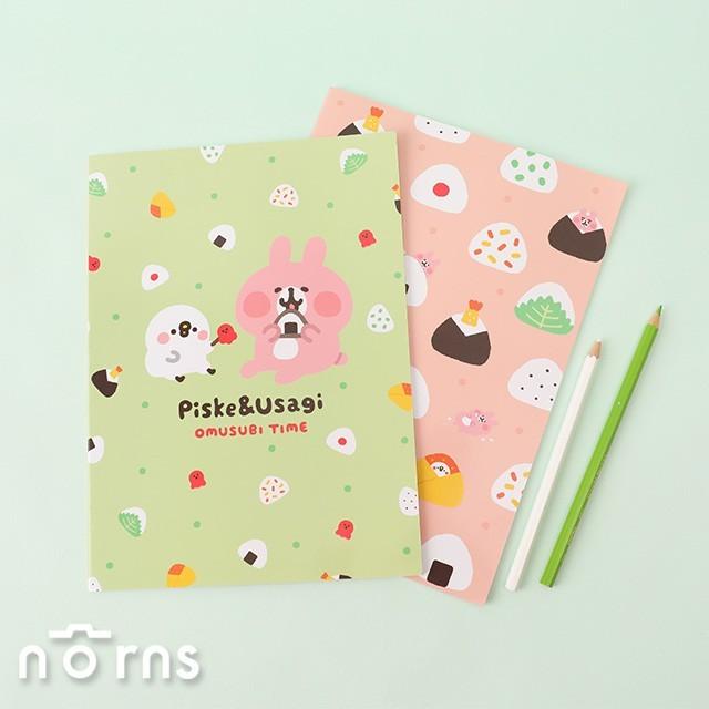 kanahei橫線筆記本16k- norns 正版授權 卡娜赫拉小動物 p助兔兔 記事本 事務文具