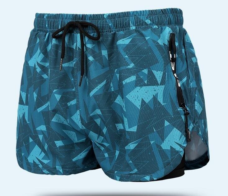 泳褲男防尷尬寬松速幹溫泉遊泳褲平角大碼男士泳衣套裝遊泳裝備
