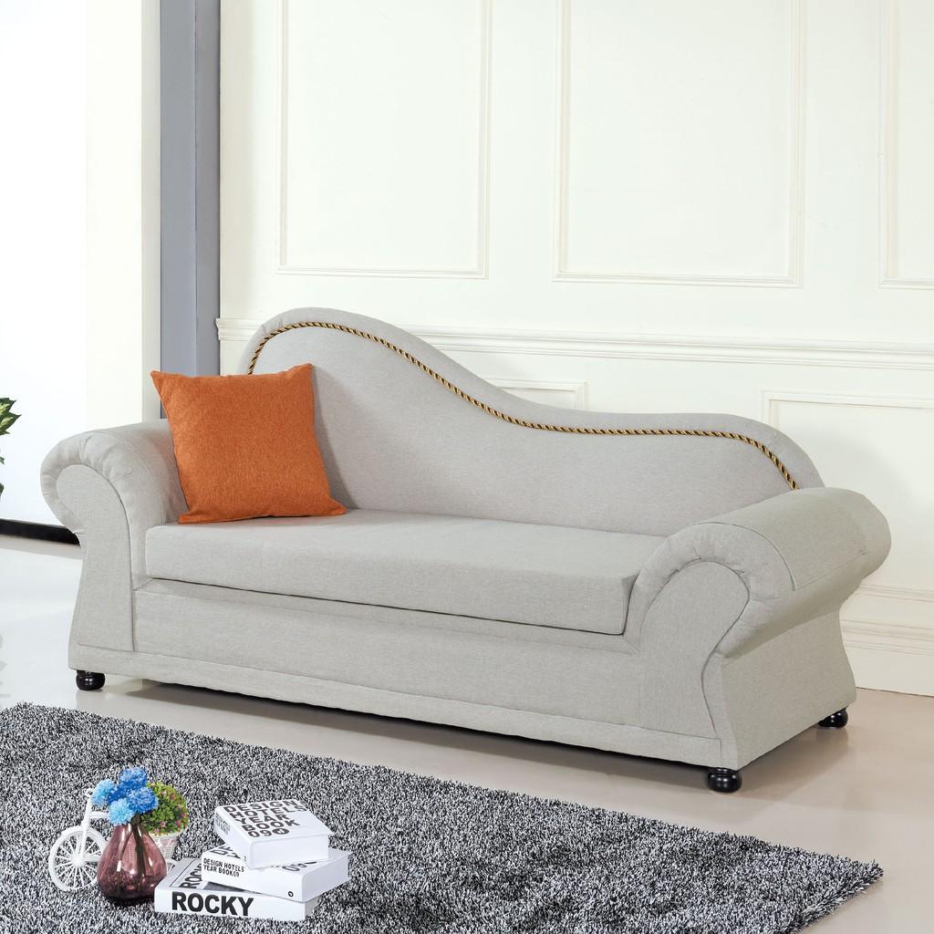 【200cm面左布貴妃椅-C663-1】 L型沙發 貓抓皮 布沙發 沙發床 沙發椅 【金滿屋】