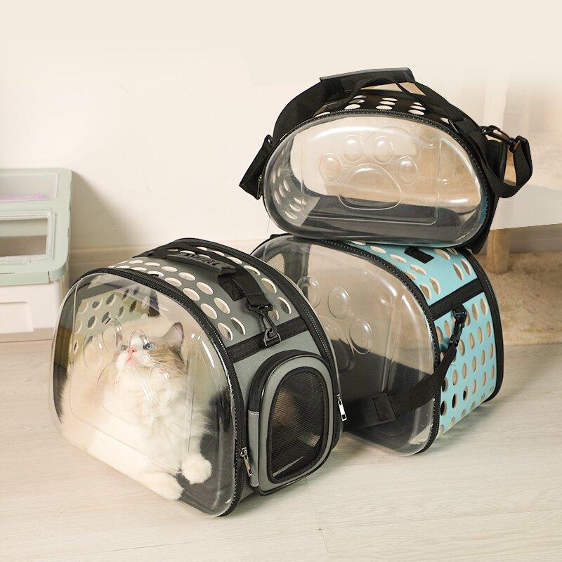 寵物包 貓包外出便攜太空艙貓咪出門貓籠子寵物背包貓書包雙肩背包T