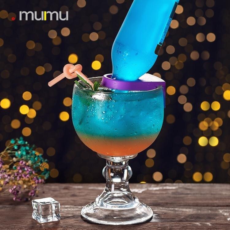 抖音網紅同款雞尾酒卡扣杯創意個性玻璃高腳杯啤酒調酒柯林杯