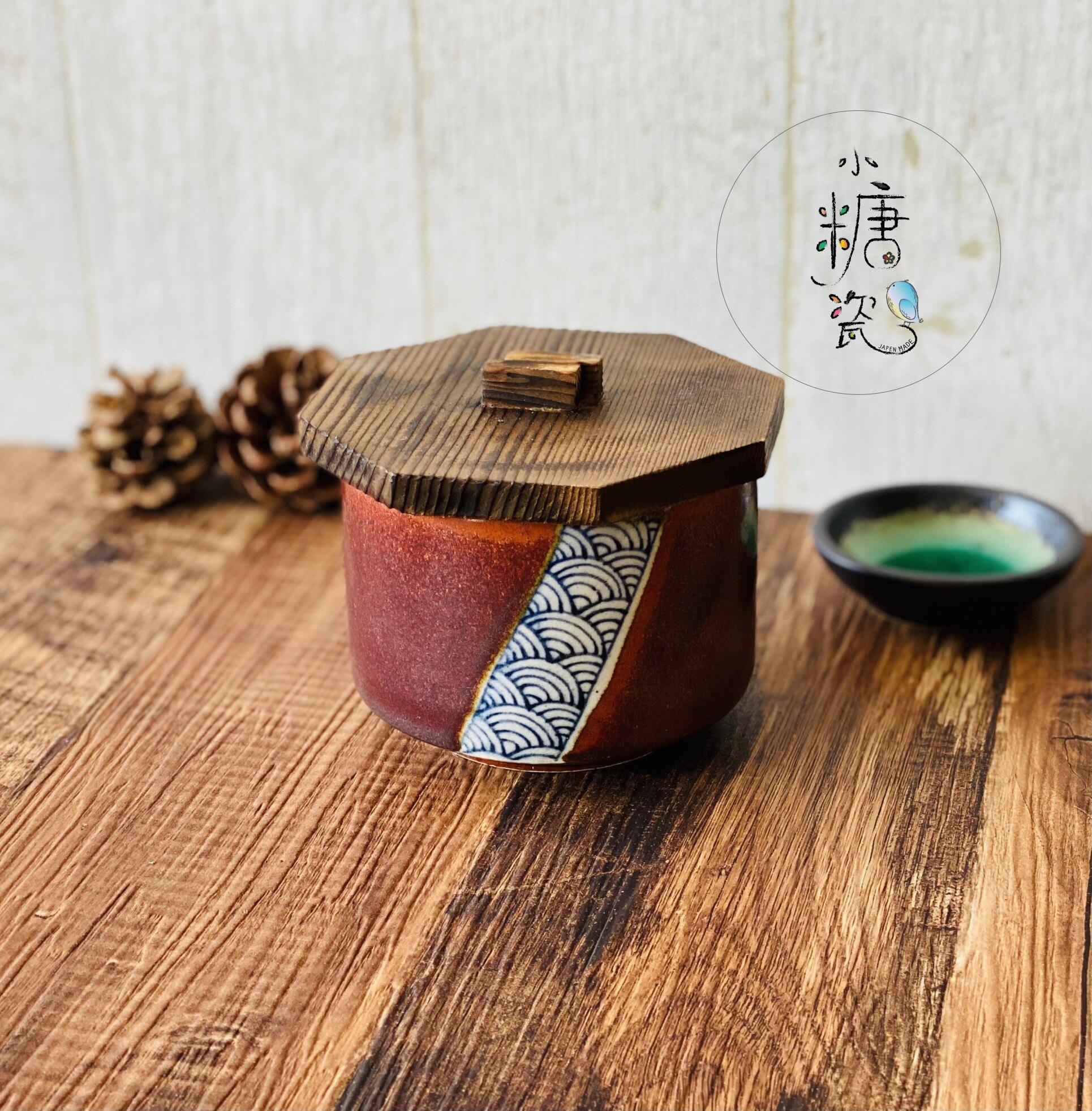 小糖瓷⎜日本製 木蓋復古暮色蒸飯器/茶碗蒸(兩款)