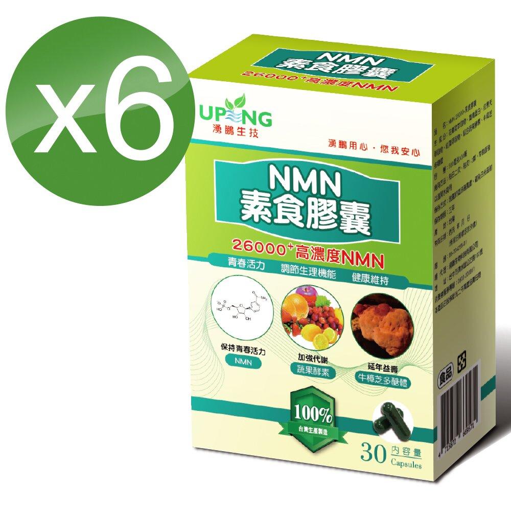 湧鵬生技 高純度NMN素食膠囊6入組