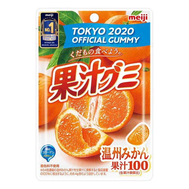 明治果汁QQ糖-溫州蜜柑 51g