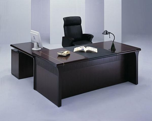 HAED-283主管桌-胡桃木色