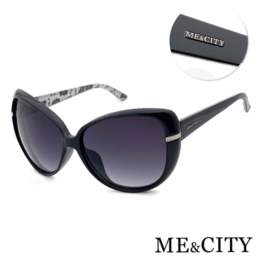 ME&CITY 時尚簡約太陽眼鏡 義大利設計款 抗UV400 (ME 120006 L400)