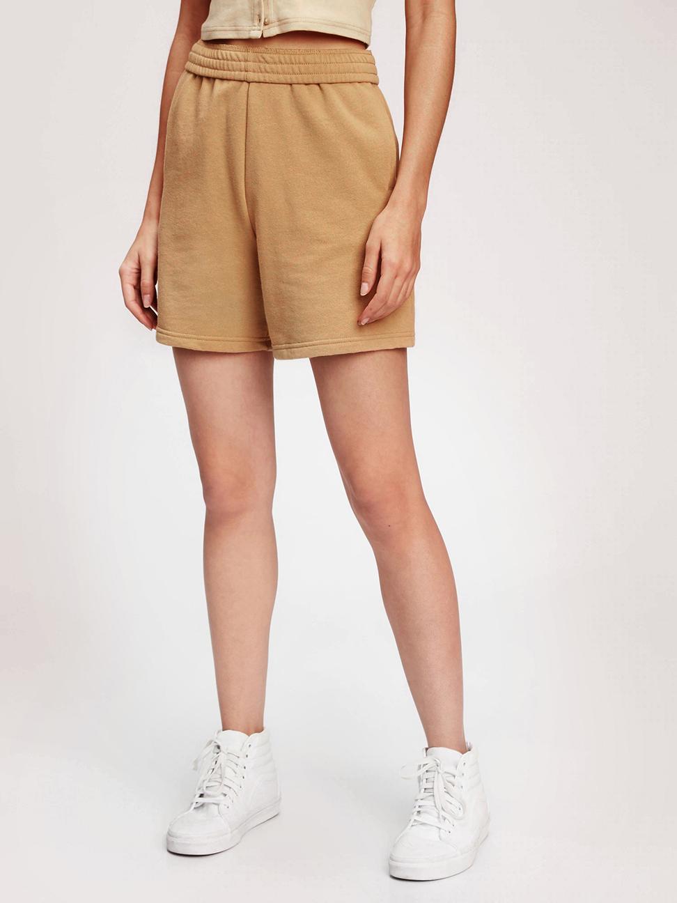 女裝 碳素軟磨系列法式圈織 男友風軟休閒褲
