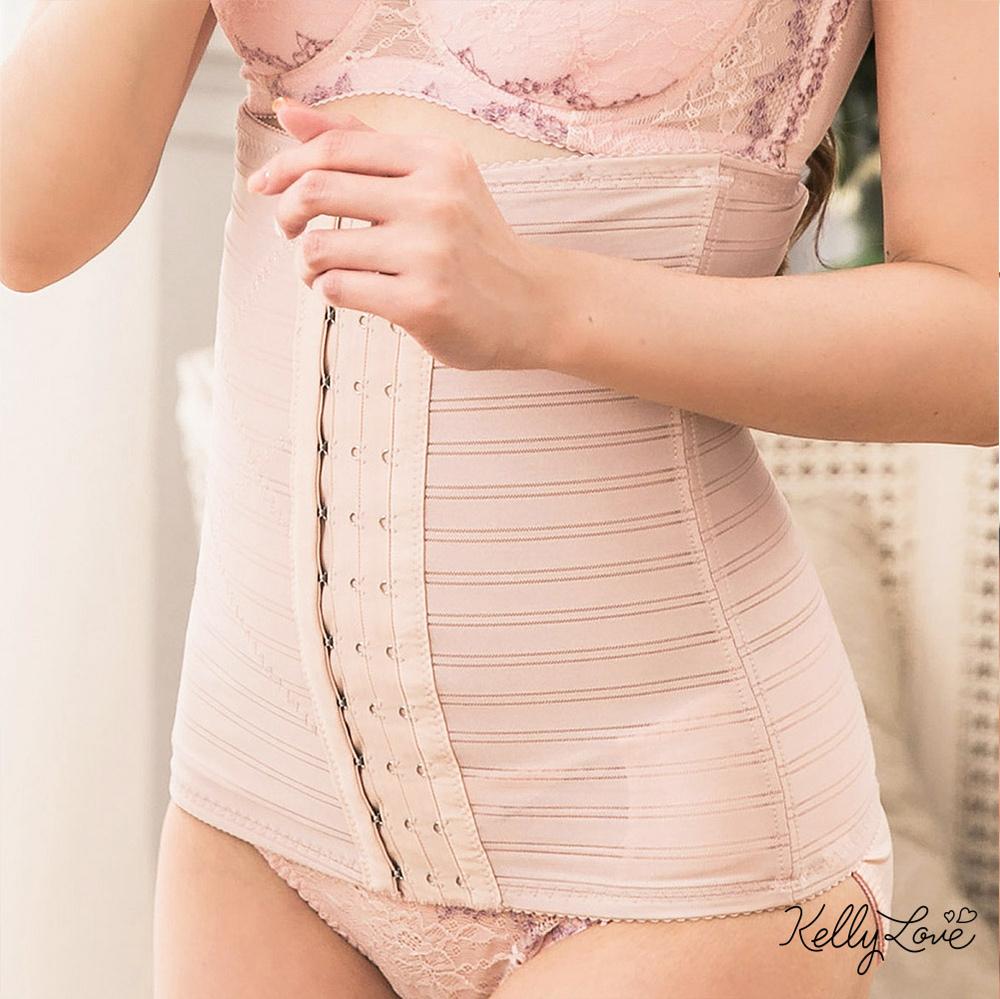 強效美型塑腰夾‧機能調整束腹束腰‧MIT台灣製【37289-膚色】凱莉愛內衣