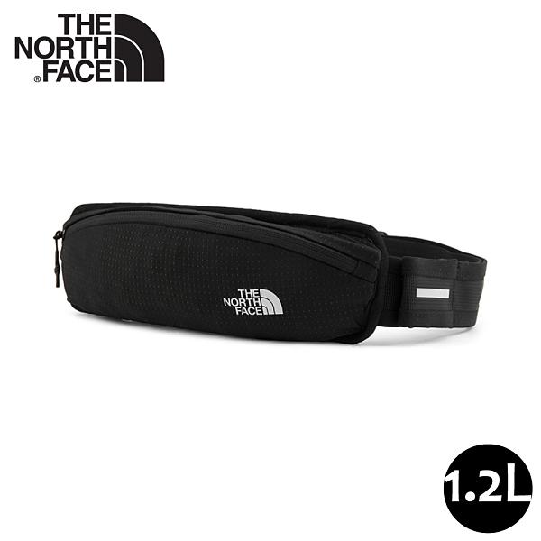 【The North Face 1.2L 運動腰包《黑》】52D4/輕巧休閒腰包/隨行包/跑步登山