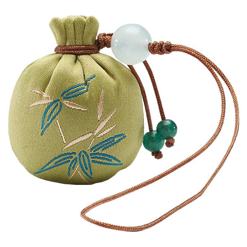圓形小香囊 手機鏈 吉祥掛件Q版香包荷包